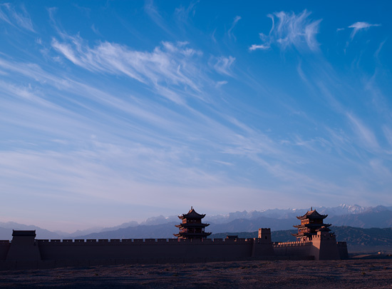 The Great Wall at Jiayuguan / Hasselblad CFV-39 digital back