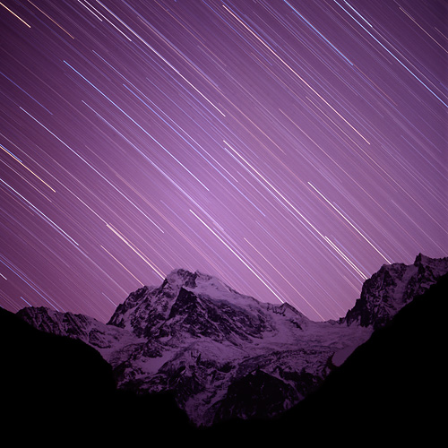 Star trails @ Mount Minya Konka (贡嘎山)