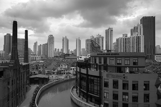 A view of Shanghai from an old slaughterhouse - image taken with the Ricoh GR camera