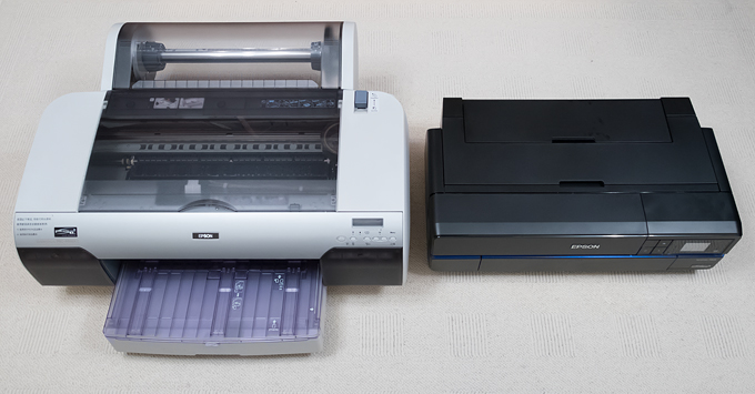 Epson SureColor P800 and 4880